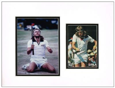 Bjorn Borg Autograph Signed Photo Display